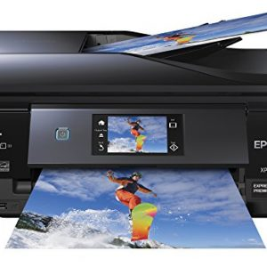 Epson XP-830 Wireless Color Photo Printer with Scanner, Copier & Fax (C11CE78201)
