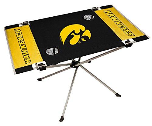 NCAA Portable Folding Endzone Table, 31.5 in x 20.7 in x 19 in